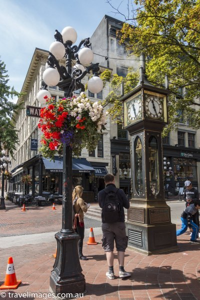 Vancouver's historic Gastown district, Canada