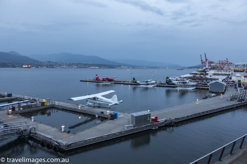 Vancouver waterfront, British Columbia, Canada